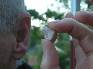 Old Hearing Aid