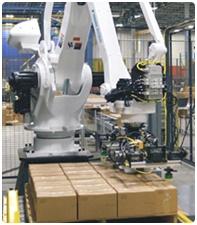 Yaskawa's palletizing             robots